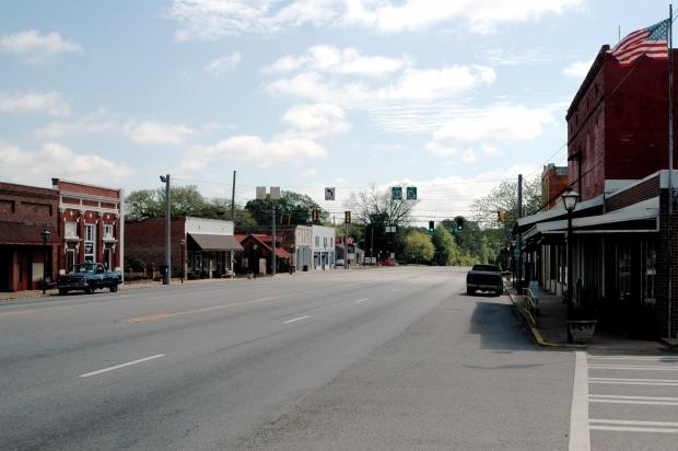 Downtown Whigham, GA.Photo: Dandspach, Wikimedia Commons